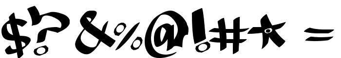 MESTIZOS UNIDOS -URBAN HOOKUPZ Font OTHER CHARS