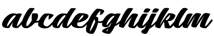 Mean Casat Bold PERSONAL USE Font LOWERCASE