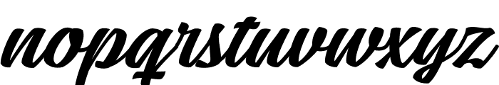 Mean Casat Med PERSONAL USE Font LOWERCASE