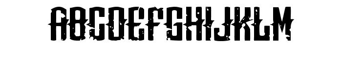 Means of malicE Font LOWERCASE