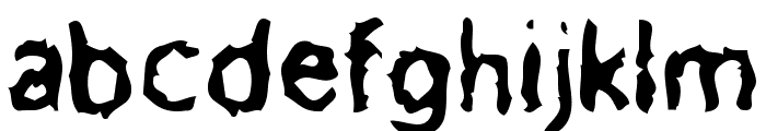 Meatbox Font LOWERCASE