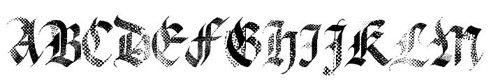 MecaGothix Font UPPERCASE