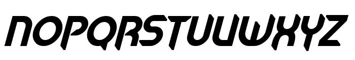 Mech Tech Bold Italic Font UPPERCASE