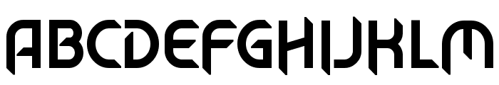 Mech Tech Font UPPERCASE