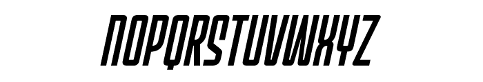MechEffects1BB-Italic Font UPPERCASE