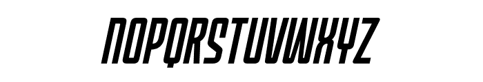 MechEffects1BB-Italic Font LOWERCASE