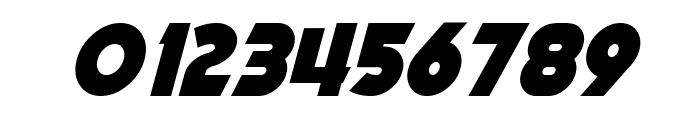 Mechalock Italic Font OTHER CHARS