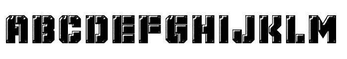 Mechanical Animals Font UPPERCASE