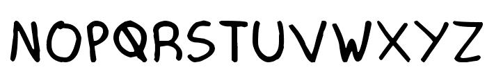Mechanical Pencil Font UPPERCASE