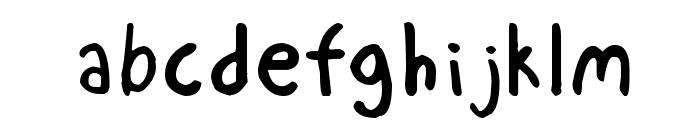 Mechanical Pencil Font LOWERCASE