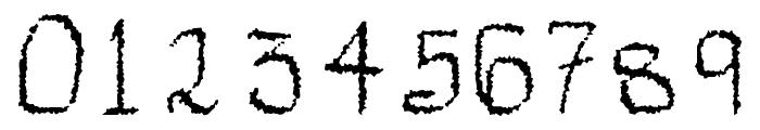 Mechanical Rorschach Font OTHER CHARS