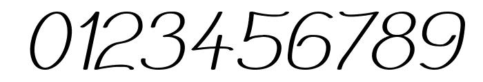 Mechanihan Italic Font OTHER CHARS