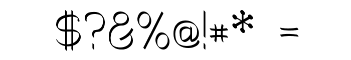 Mechanihan Ribbon Font OTHER CHARS