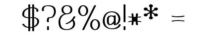 Mechanihan Font OTHER CHARS
