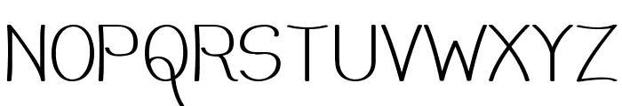 Mechanihan Font UPPERCASE