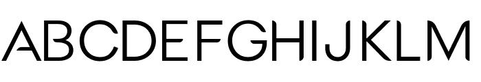 Medel Regular Font UPPERCASE