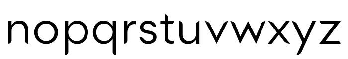 Medel Regular Font LOWERCASE