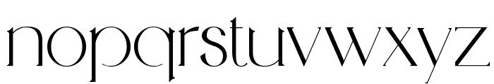 Medhurst Font LOWERCASE