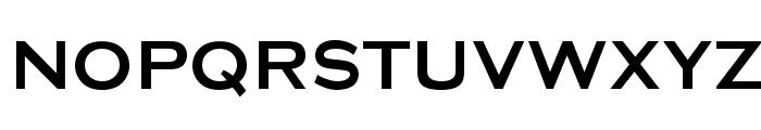 Media Gothic Font UPPERCASE