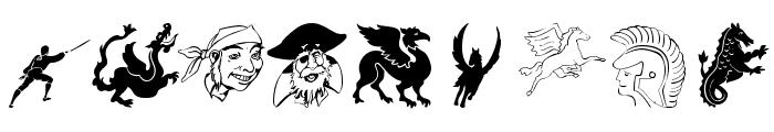 MediaevalBats Font OTHER CHARS