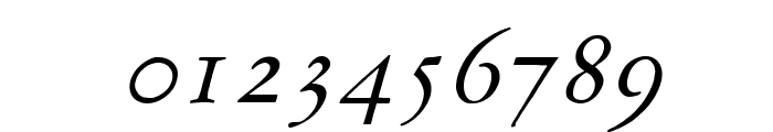 MediaevalItalique Font OTHER CHARS