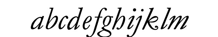 MediaevalItalique Font LOWERCASE