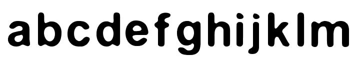 Medianburner Font LOWERCASE