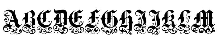 Medici Text Font UPPERCASE