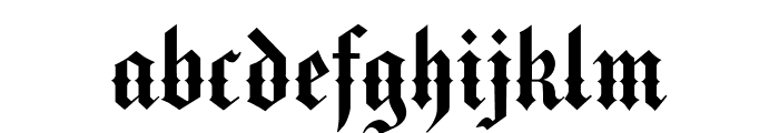 MediciText Font LOWERCASE