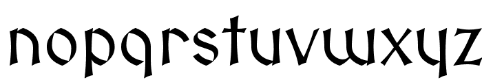 Medieval Sharp Font LOWERCASE