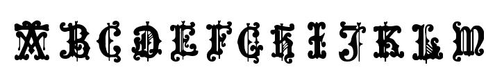 Medieval Sorcerer Ornamental Font LOWERCASE