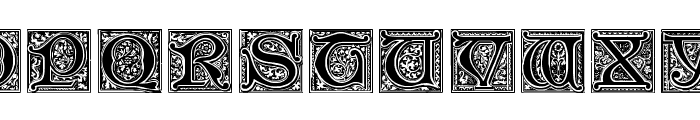 Medieval Victoriana No.2 Font UPPERCASE