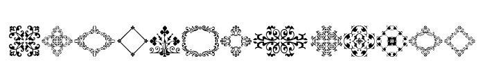 MedievalMotifTwo Font LOWERCASE