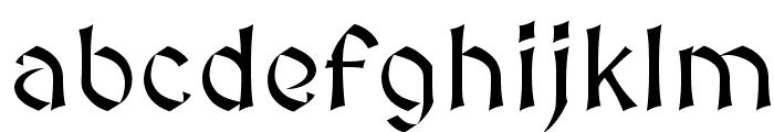 MedievalSharp Font LOWERCASE