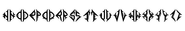 Mediogramo Font UPPERCASE