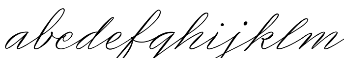Medish Script PERSONAL USE ONLY Font LOWERCASE
