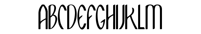 Meditation Font UPPERCASE