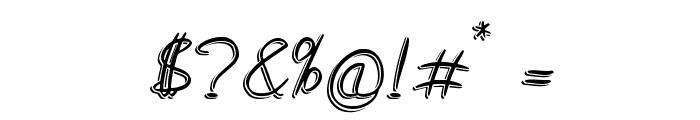 Medley_Script Font OTHER CHARS