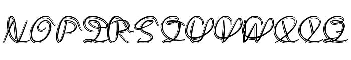 Medley_Script Font UPPERCASE