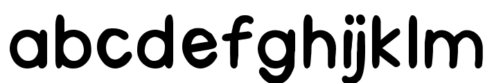 Medrano Font LOWERCASE