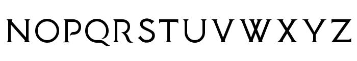 Medusa Gothic Font UPPERCASE