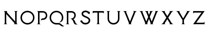 Medusa Gothic Font LOWERCASE