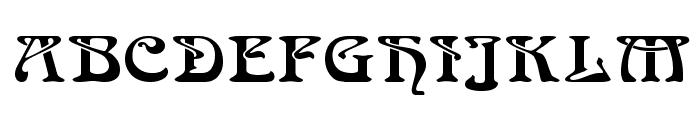 Medusa Regular Font UPPERCASE