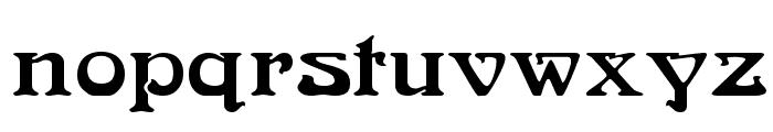 Medusa Regular Font LOWERCASE