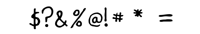 Meet the Submarine Font OTHER CHARS