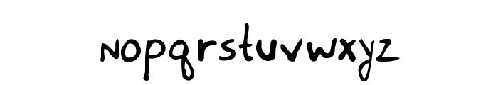 Meet the Submarine Font LOWERCASE