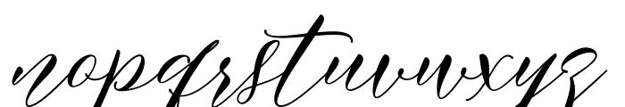 MeethaScriptDemo Font LOWERCASE