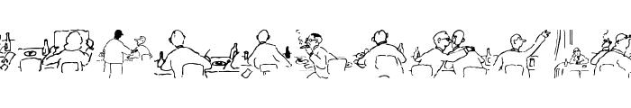 Meeting Font LOWERCASE