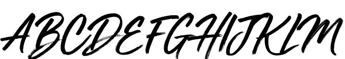 Mega Fresh Font UPPERCASE
