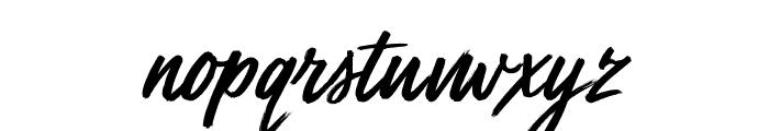 Mega Fresh Font LOWERCASE